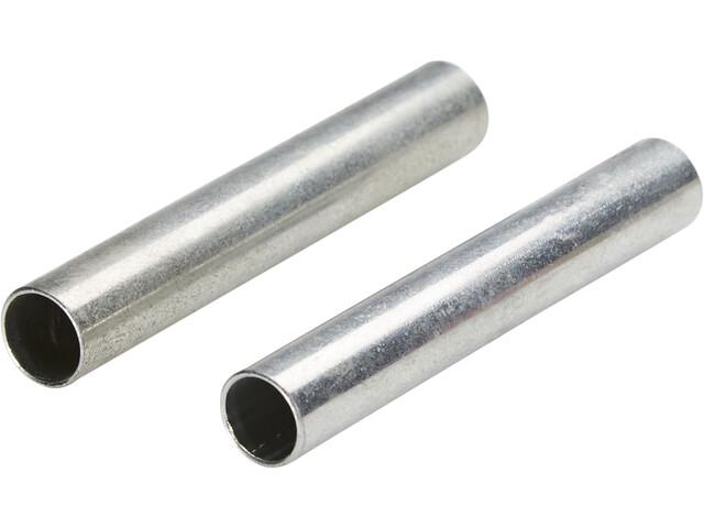 CAMPZ Embouts de remplacement pour arceau de tente 8 mm Kit de 2, silver
